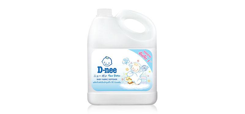 D-nee Baby Fabric Softener Cotton Soft 3000ml