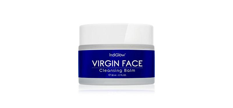 IndiGlow Virgin Face Cleansing Balm 50ml ( สินค้าหมดอายุ : 2022.04 )