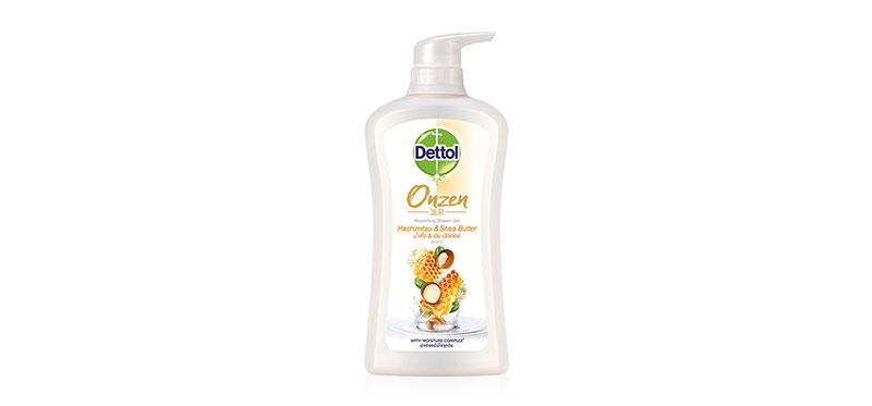Dettol Onzen Nourishing Shower Gel Hachimitus and Shear Butter 500ml