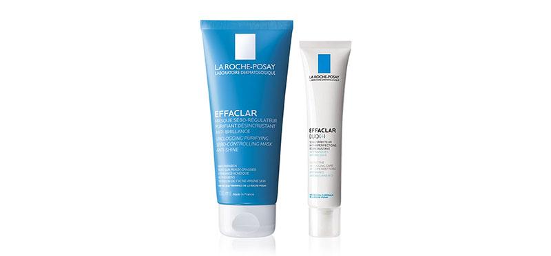 La Roche Posay Acne and Oil Control Set 2 Items Effaclar Duo Plus 40ml + Effaclar Mask 100ml
