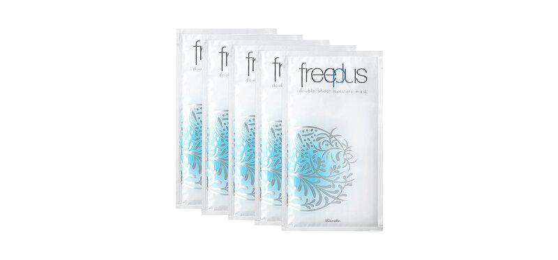 Freeplus Double Sheet Moisture Mask Sheet [25ml x 5 Sheets]