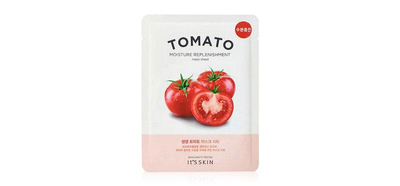It's Skin The Fresh Mask Sheet Tomato 18ml ( สินค้าหมดอายุ : 2022.04 )