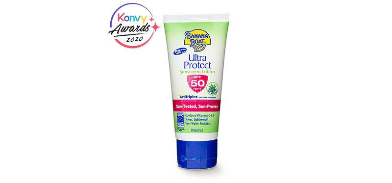 Banana Boat Ultra Protect Sunscreen Lotion SPF50PA+++ 90ml