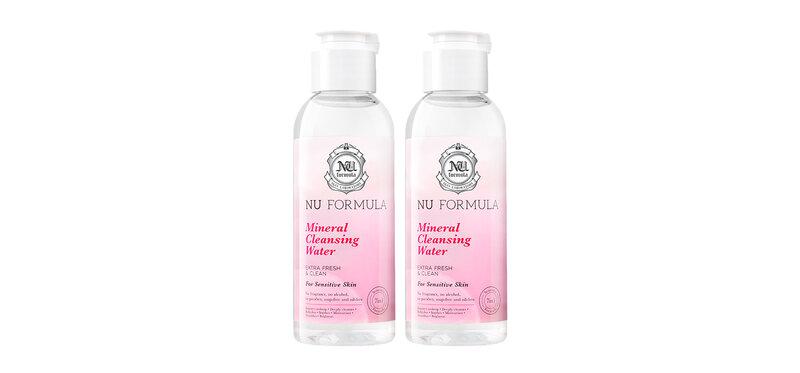 [แพ็คคู่] Nu Formula Mineral Cleansing Water For Sensitive Skin [100ml × 2pcs]