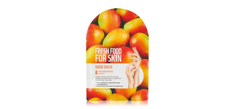 FARM SKIN Fresh Food For Skin Hand Mask Nourishing Mango 2 Sheets