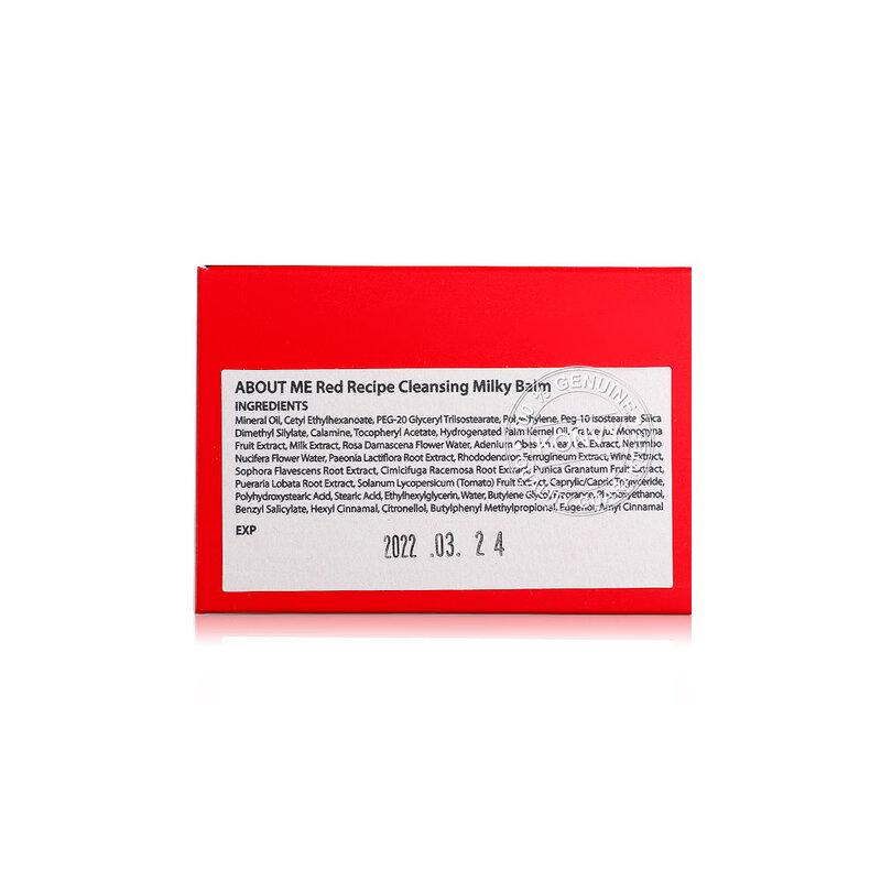 About Me Red Recipe Cleansing Milky Balm 90ml ( สินค้าหมดอายุ : 2022.03 )