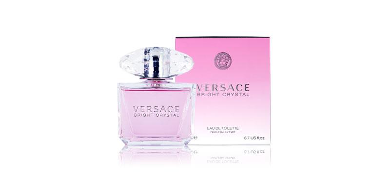 Versace Bright Crystal Eau De Toilett 200ml
