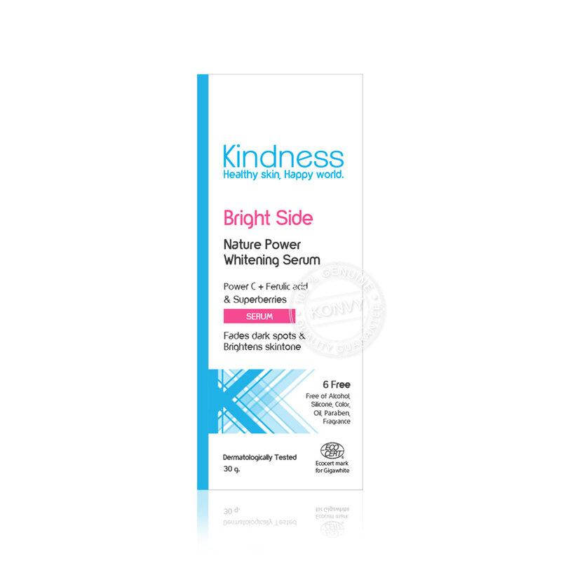 Kindness Bright Side Nature Power Whitening Serum 30g