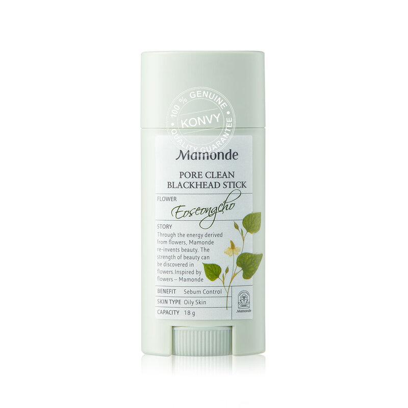 Mamonde Set 2 Items Pore Clean Blackhead Stick 18g + Micro Deep Cleansing Foam 50ml
