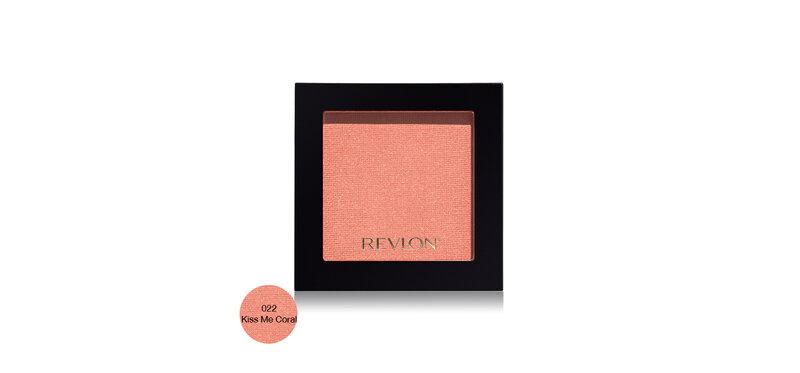 REVLON Powder Blush 5g #022 Kiss Me Coral