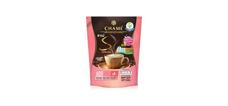 Chame Sye Coffee Collagen CLA [15g x 10 Sachets]