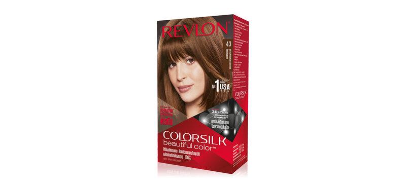 REVLON Colorsilk Beautiful Color with Keratin 130ml #43 Medium Golden Brown