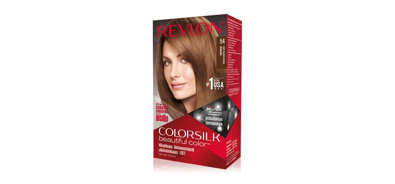 REVLON Colorsilk Beautiful Color with Keratin 130ml #54 Light Golden Brown