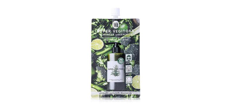 Wonder Bath Super Vegitoks Cleanser Green 30g
