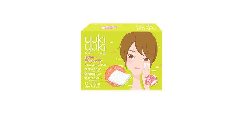 YukiYuki Silky Cotton Puff 80pcs
