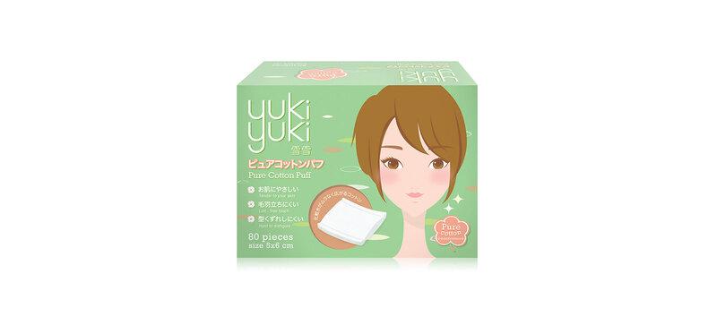 YukiYuki Pure Cotton Puff 80pcs