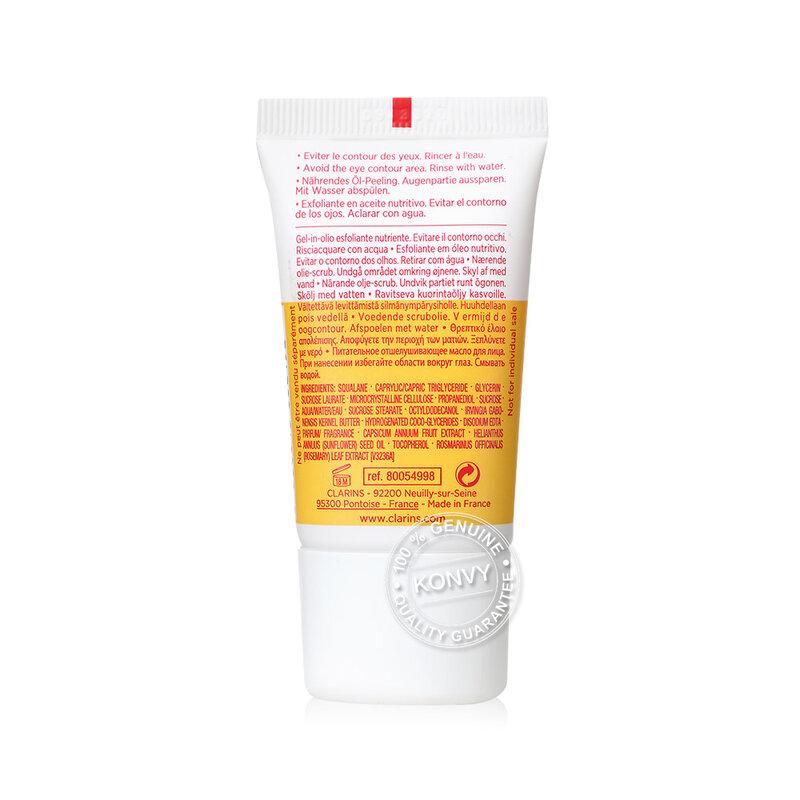 Clarins Comfort Scrub Nourishing Oil Scrub With Sugar Microcrystals 15ml