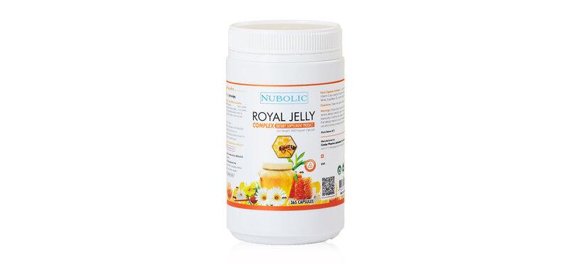 NUBOLIC Royal Jelly 365 Capsules