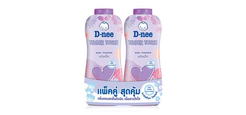 D-nee Baby Powder Tender Touch [380g x 2pcs]