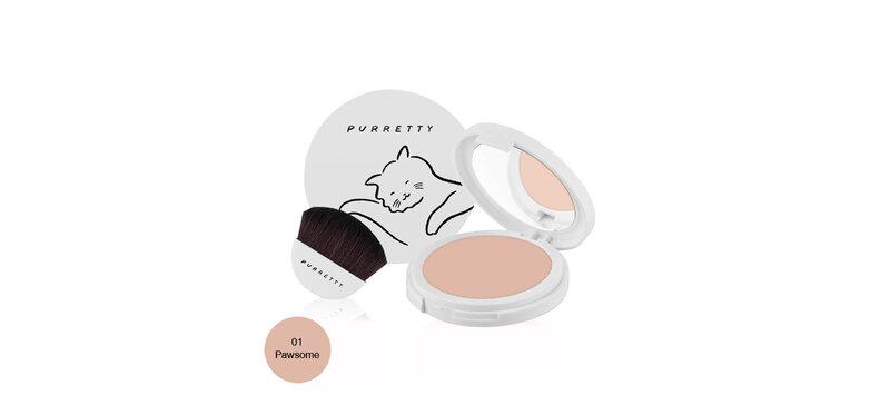 Purretty Pure Powder SPF15/PA+++ 10g #01 Pawsome