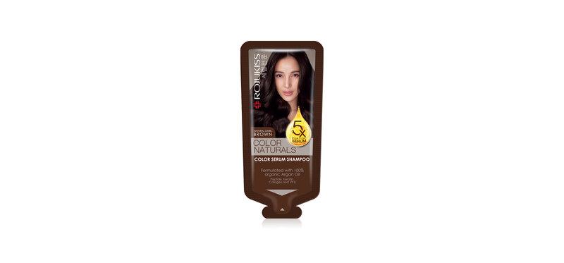 Rojukiss Color Naturals Shampoo 30ml #Dark Brown
