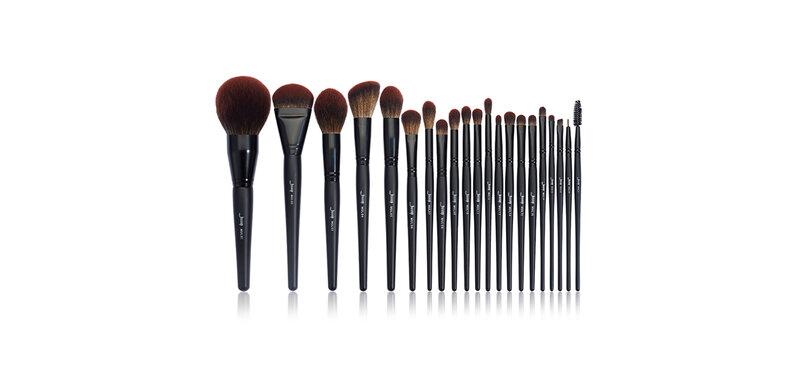 Jessup Professional Makeup Brushes Set 21pcs #T271 Black Complete Collection