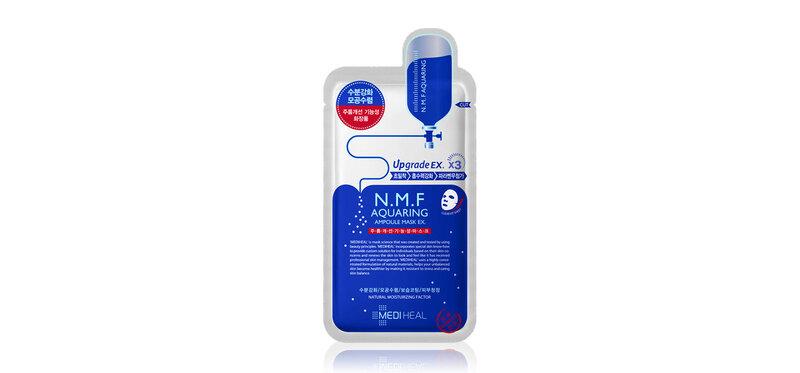 Mediheal N.M.F Aquaring Ampoule Mask EX 27ml ( Expiration Date : 2022.04 )