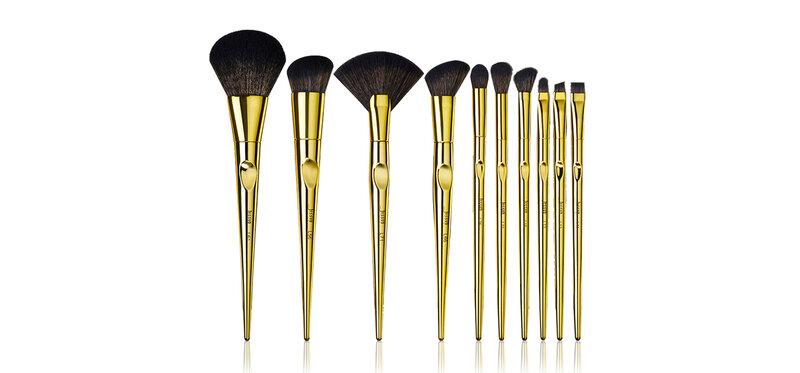 Jessup Professional Makeup Brushes Set 10pcs #T317 Royal Iconic