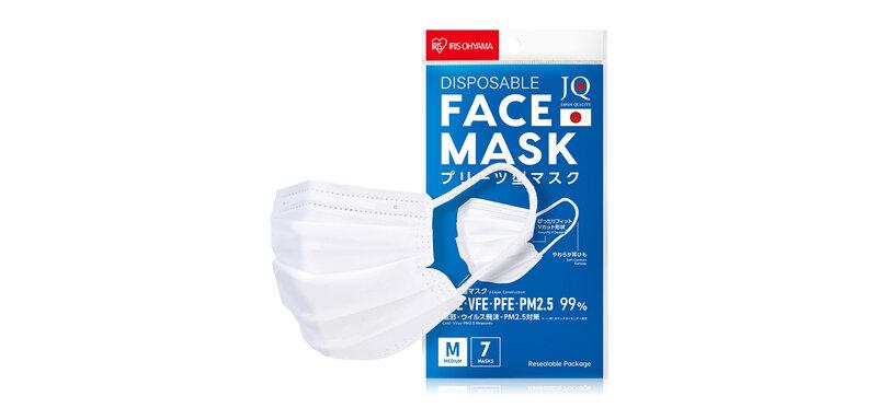 IRIS OHYAMA Disposable Face Mask Size M [7pcs]
