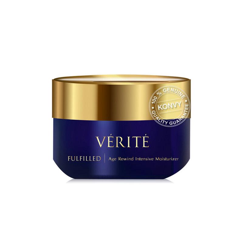 Verite Set 3 Items Fulfilled Age Rewind Gel Moisturizer 50g + Intensive Moisturizer 50g + Serum30ml