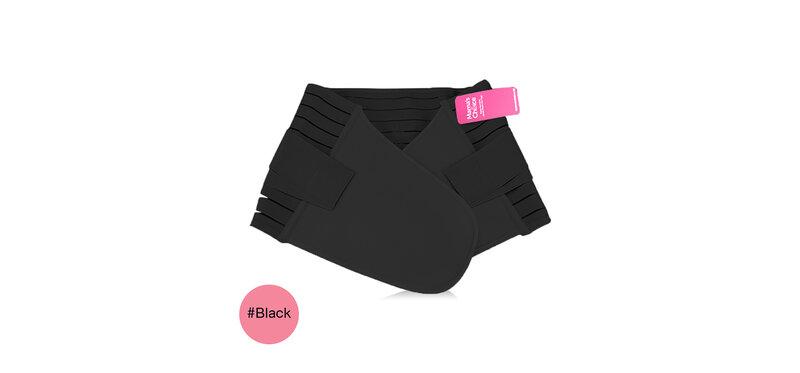 Mama's Choice Postpartum Adjustable Corset #Black