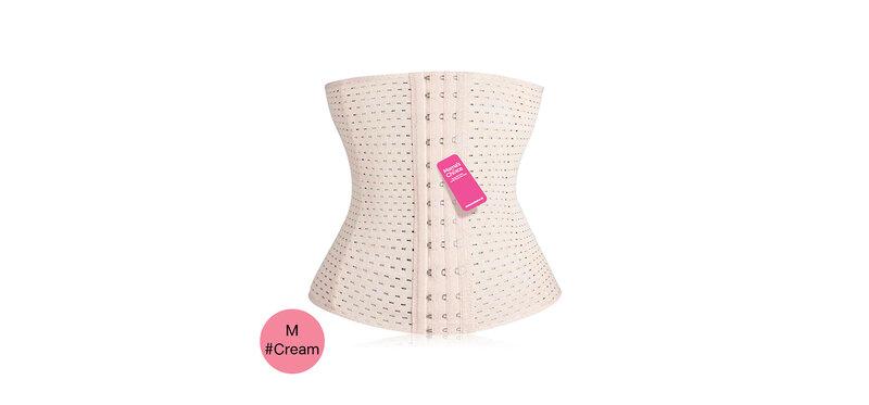 Mama's Choice Body Shaper Breathable Corset Size M #Cream