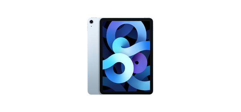 [มีของพร้อมส่ง] iPad Air 4 (2020) Sky Blue 64GB Wi-Fi+Cellular