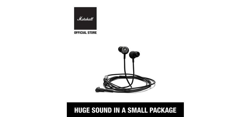 [ ศูนย์ไทย พร้อมส่ง ] หูฟัง Marshall Mode In-Ear Headphone Black and White