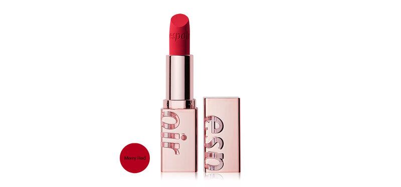 Espoir Lipstick No Wear Velvet 3.2g #Merry Red