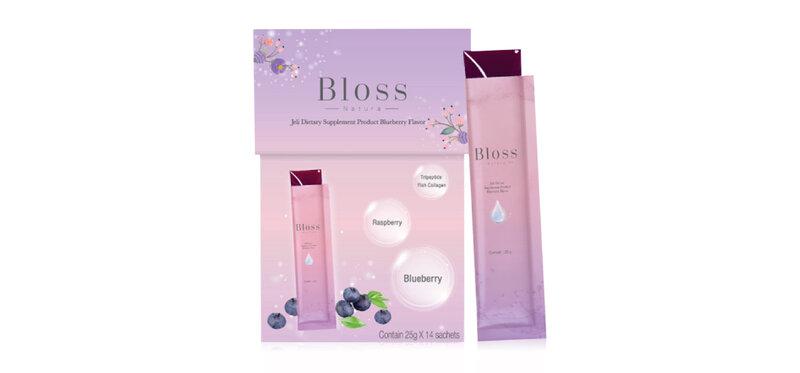 Bloss Jeli Booster Blueberry [25g x 14 Sachets]