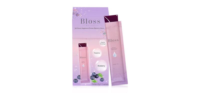 Bloss Jeli Booster Blueberry [25g x 5 Sachets]