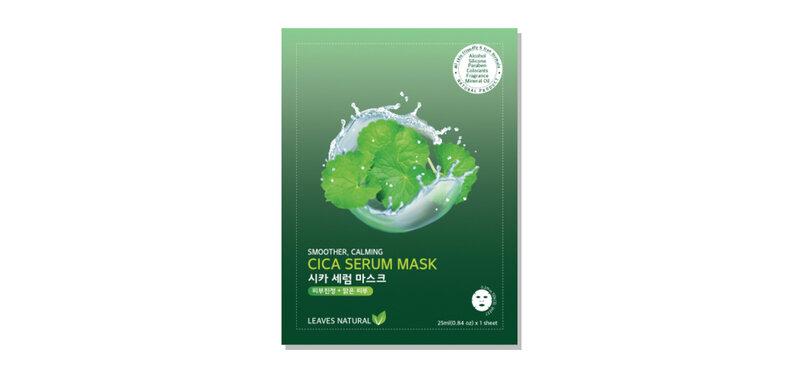 Leaves Natural Cica Serum Mask 25ml