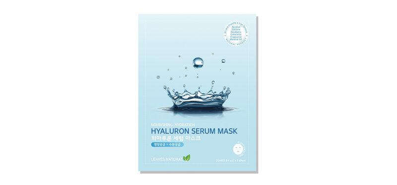 Leaves Natural Hyaluron Serum Mask 25ml