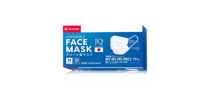 IRIS OHYAMA Disposable Face Mask Size M [30pcs]