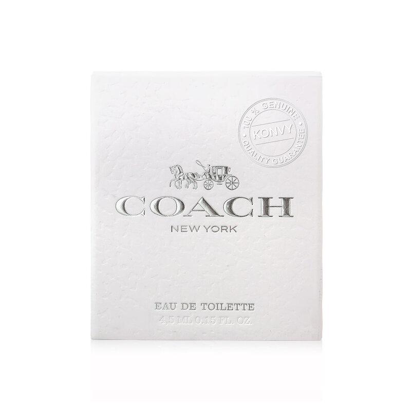Coach New York  Eau De Toilette 4.5ml