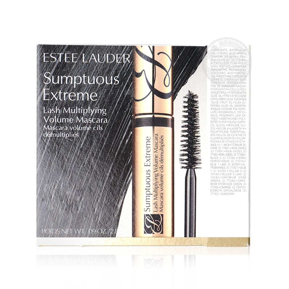 Estee Lauder Sumptuous Extreme Lash Multiplying Volume Mascara #01 Extreme Black