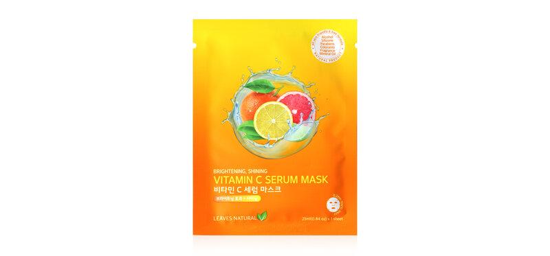 Leaves Natural Vitamin C Serum Mask 25ml