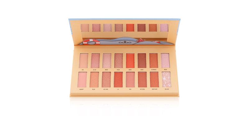 ODBO Sandbeach Eyeshadow Palette 17.6g #OD256-01