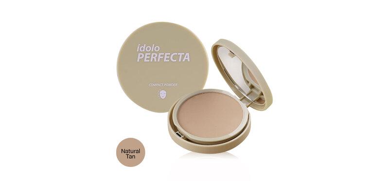 IDOLO Perfecta Compact Powder 9g #Natural Tan