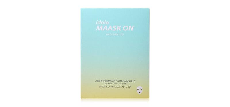 IDOLO Maask On Mask Sheet Set