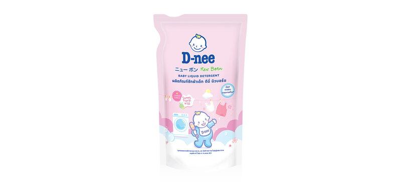 D-nee Baby Liquid Detergent Sweet Floral [Pink] 600ml
