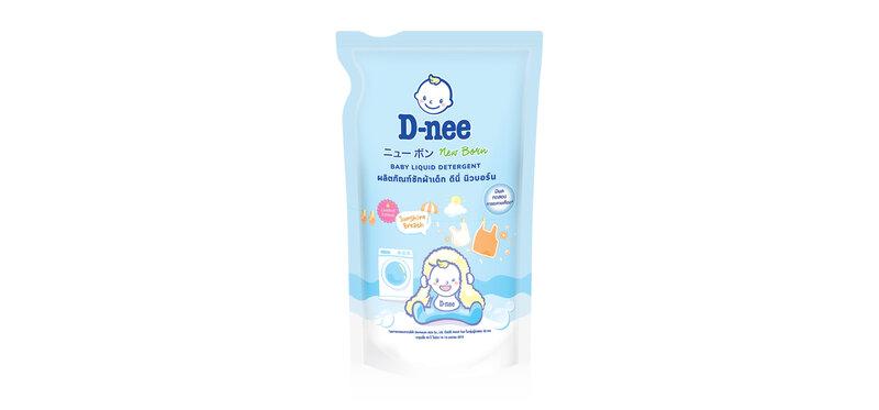 D-nee Baby Liquid Detergent Sunshine [Blue] 600ml