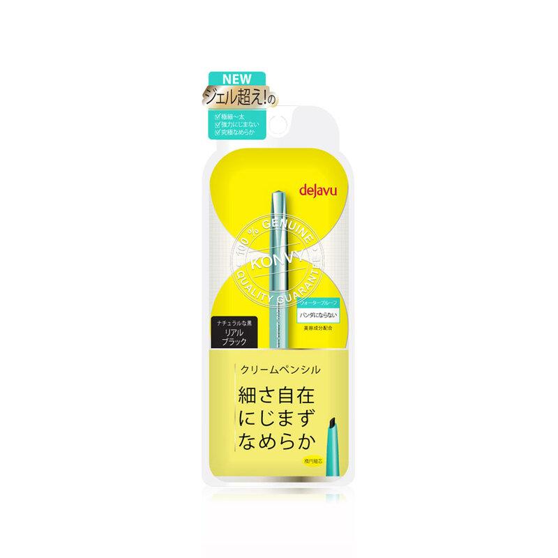 Dejavu Lasting-Fine E Cream Pencil 0.15g #1 Real Black