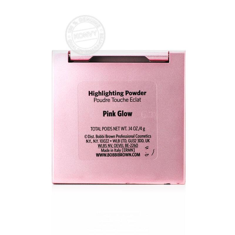 Bobbi Brown Highlighting Powder 4g #Pink Glow (Pink Case)